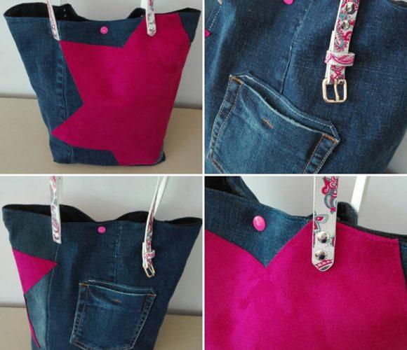 SAM Jeans Pink Star