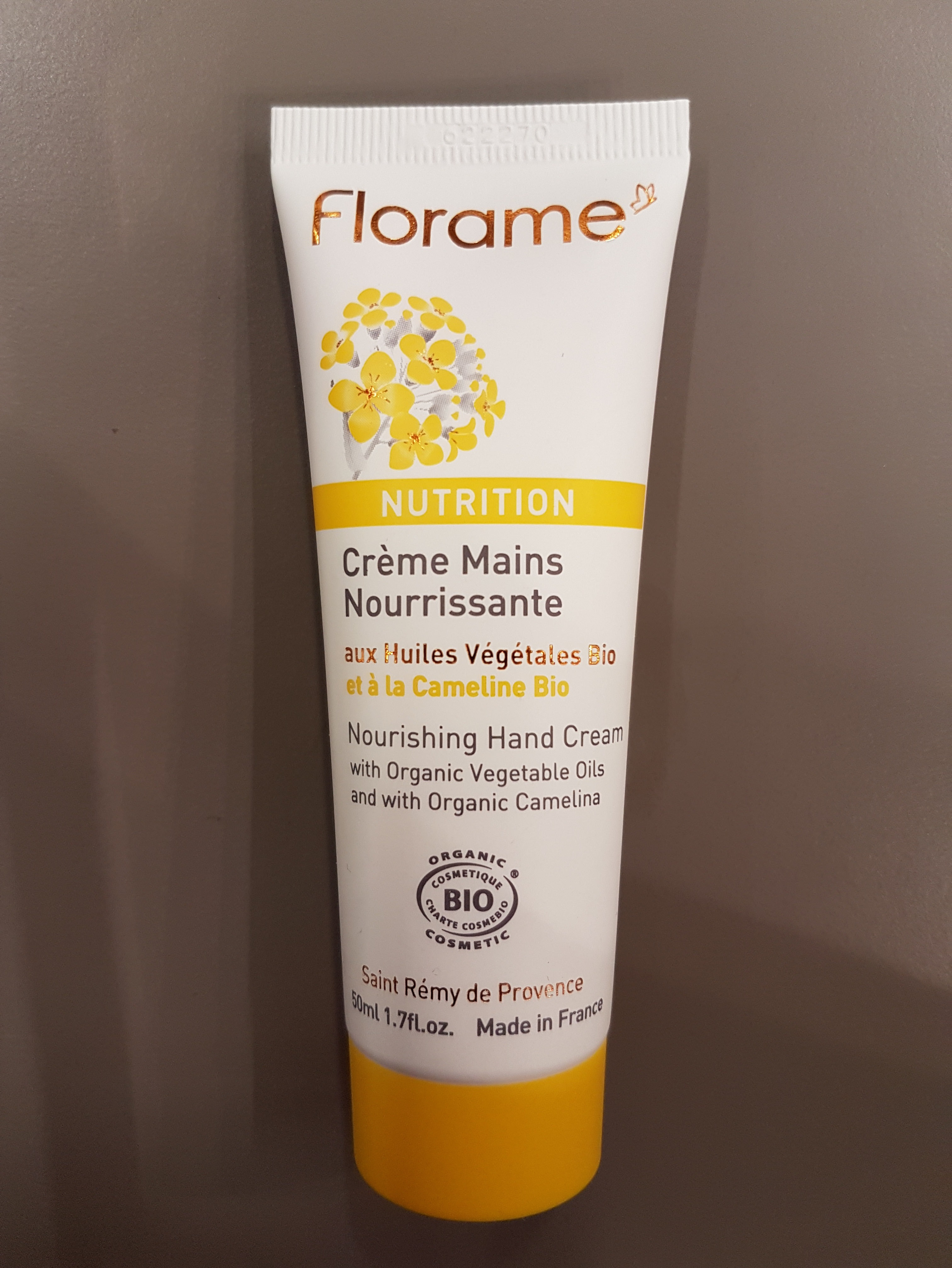 J'ai testé pour vous la crème mains nourissante FLORAME