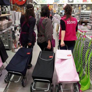 Fête des mères : optez pour un chariot de courses ultra pratique ;)