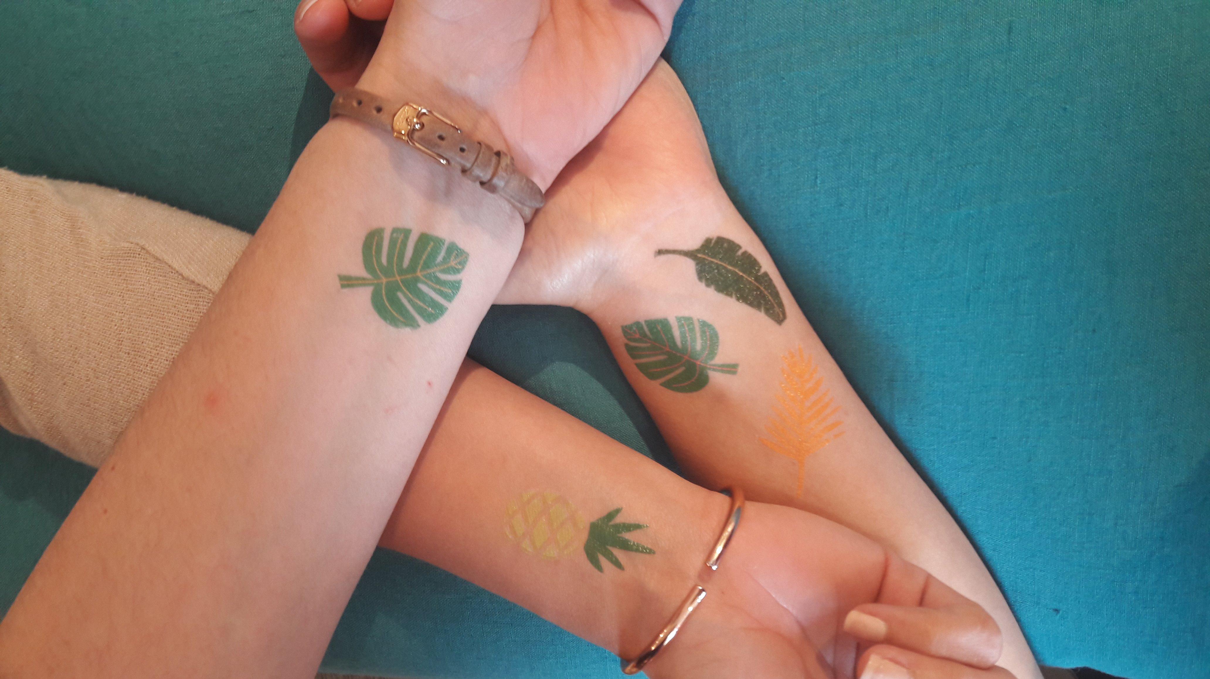 J'ai testé pour vous les tatouages éphémères de la gamme MERI MERI