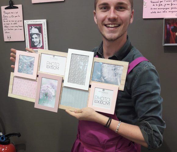 Coup de coeur pour ma maman : Le pele-mêle scandi 8vues rose