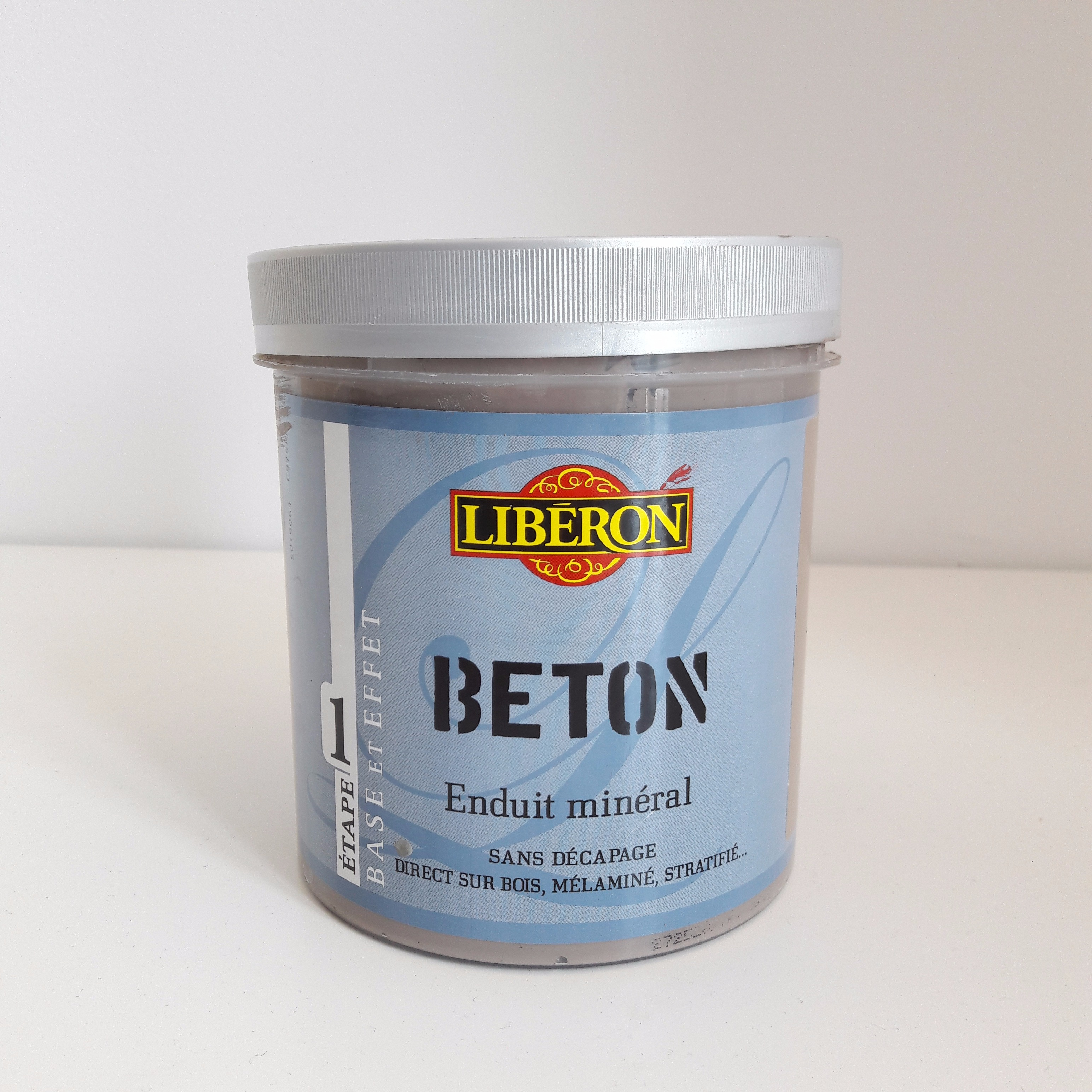 J'ai testé pour vous l'Enduit Minéral effet Béton de chez Libéron