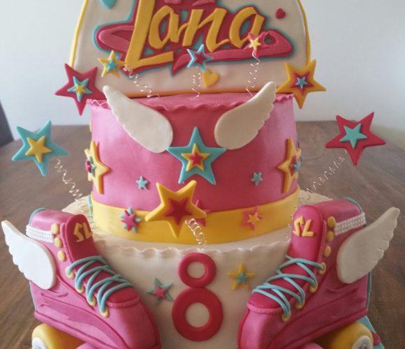 Gateau Soy Luna pour Lana