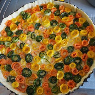 J'ai testé pour vous tarte au courgette carotte