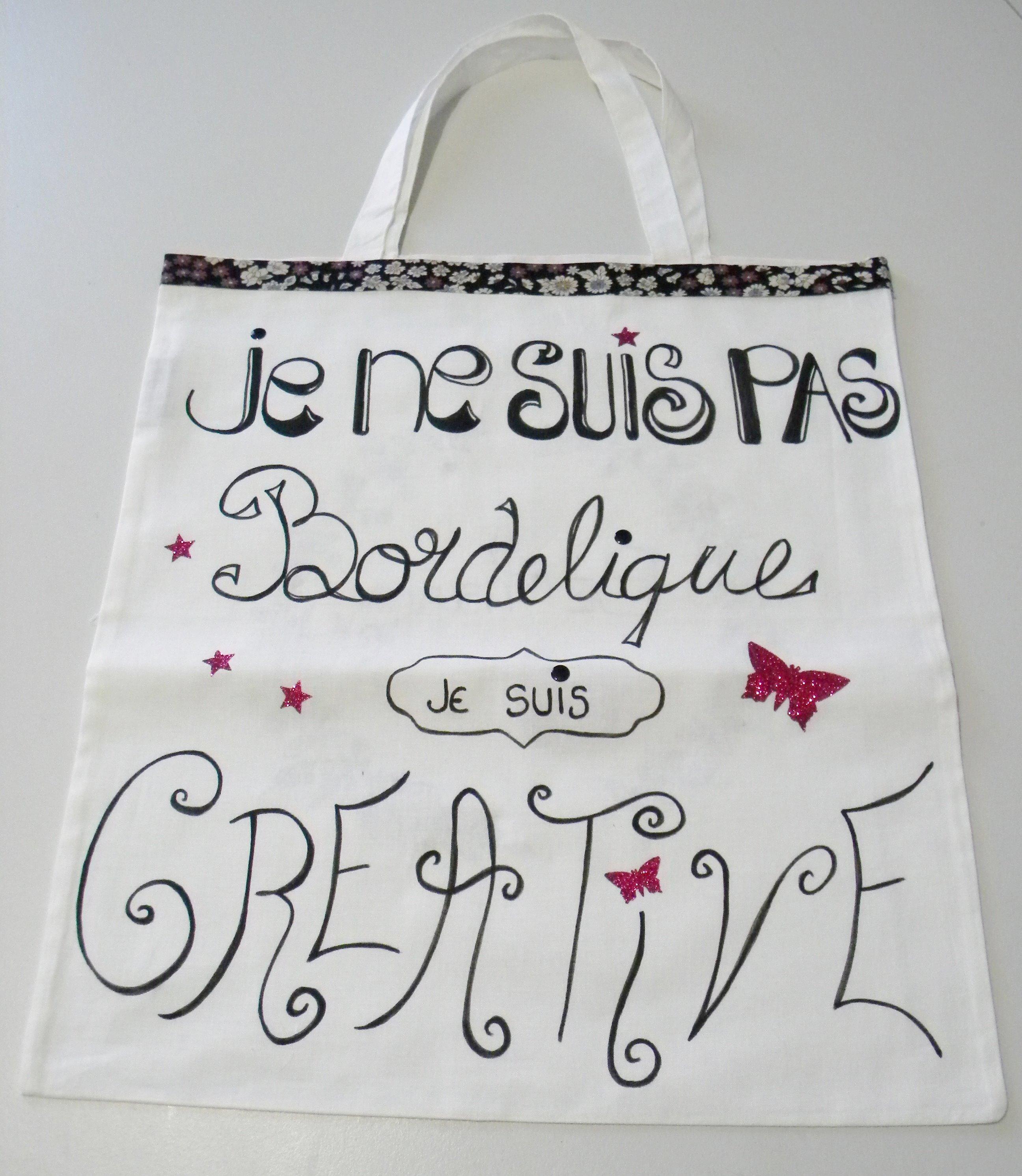 Un ToTe Bag Personnalisé pour la fête des Mères
