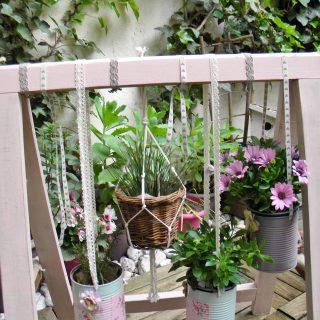 Mon Salon de Jardin en Matériaux recyclés
