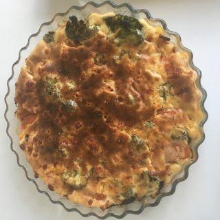 Tarte salée sans pâte