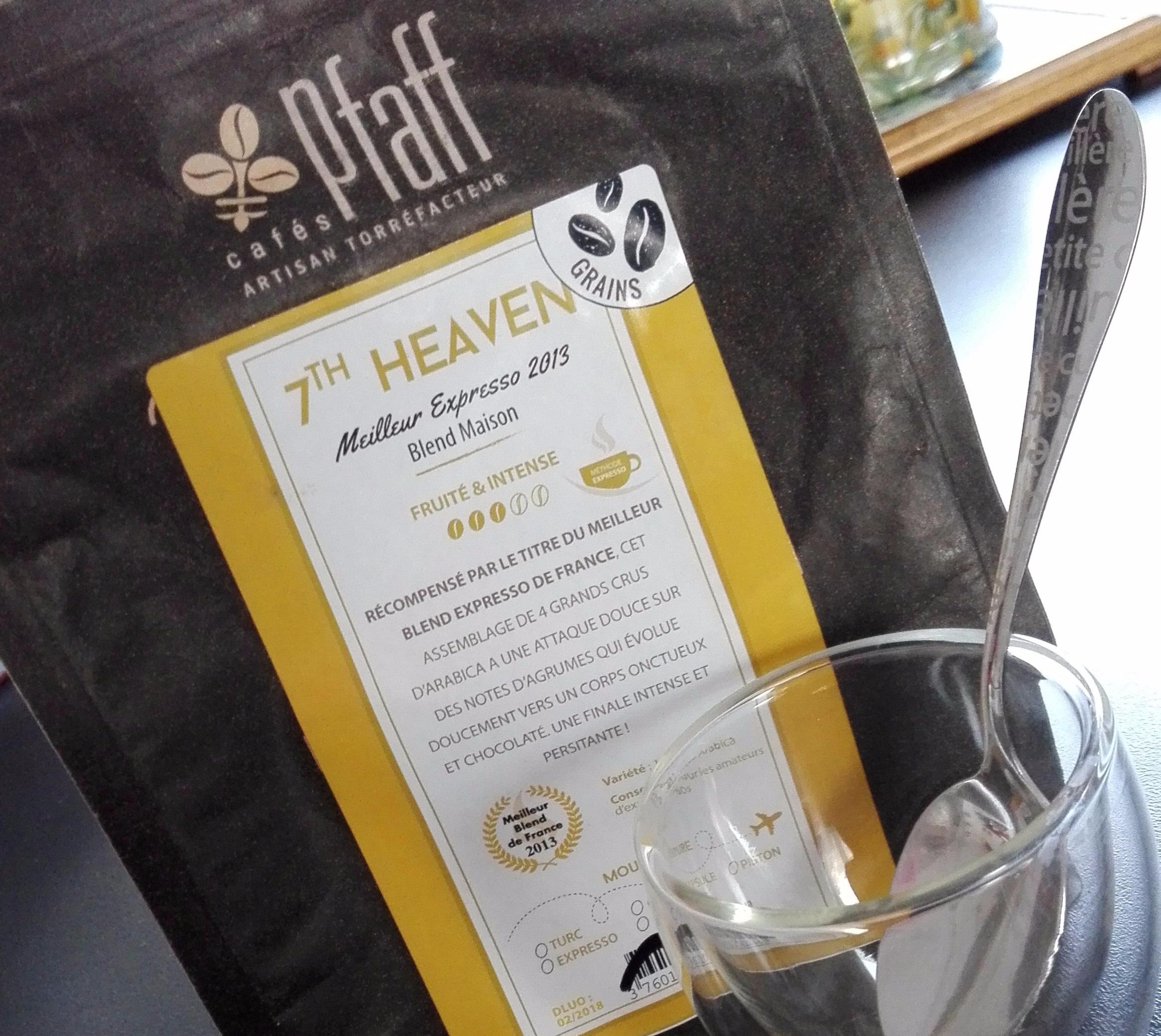 J'ai testé pour vous le café 7th Heaven de chez PLAFF
