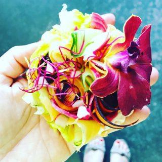 Tarte aux légumes crus du Magalogue