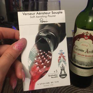 J'ai testé pour vous aérateur souple de l'Atelier du vin