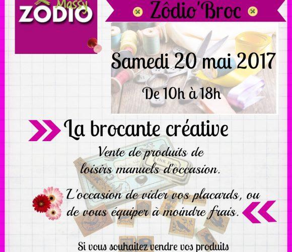 Zôdio'broc, la brocante créative à Zôdio Massy