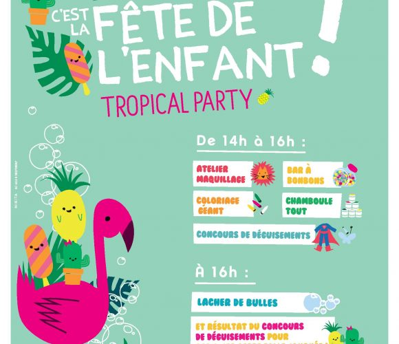 Tropical Party avec vos loulous chez Zôdio !