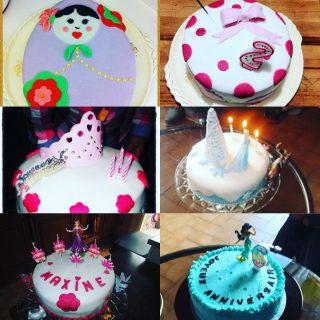Gâteaux d'anniversaire....