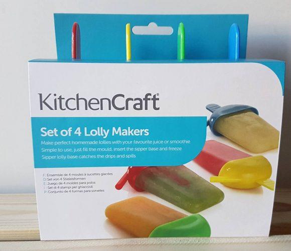 J'ai testé pour vous le set de 4 moules à Glaces de chez Kitchen Craft