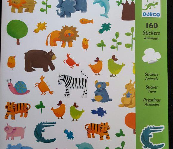 J'ai testé pour vous les 160 stickers animaux