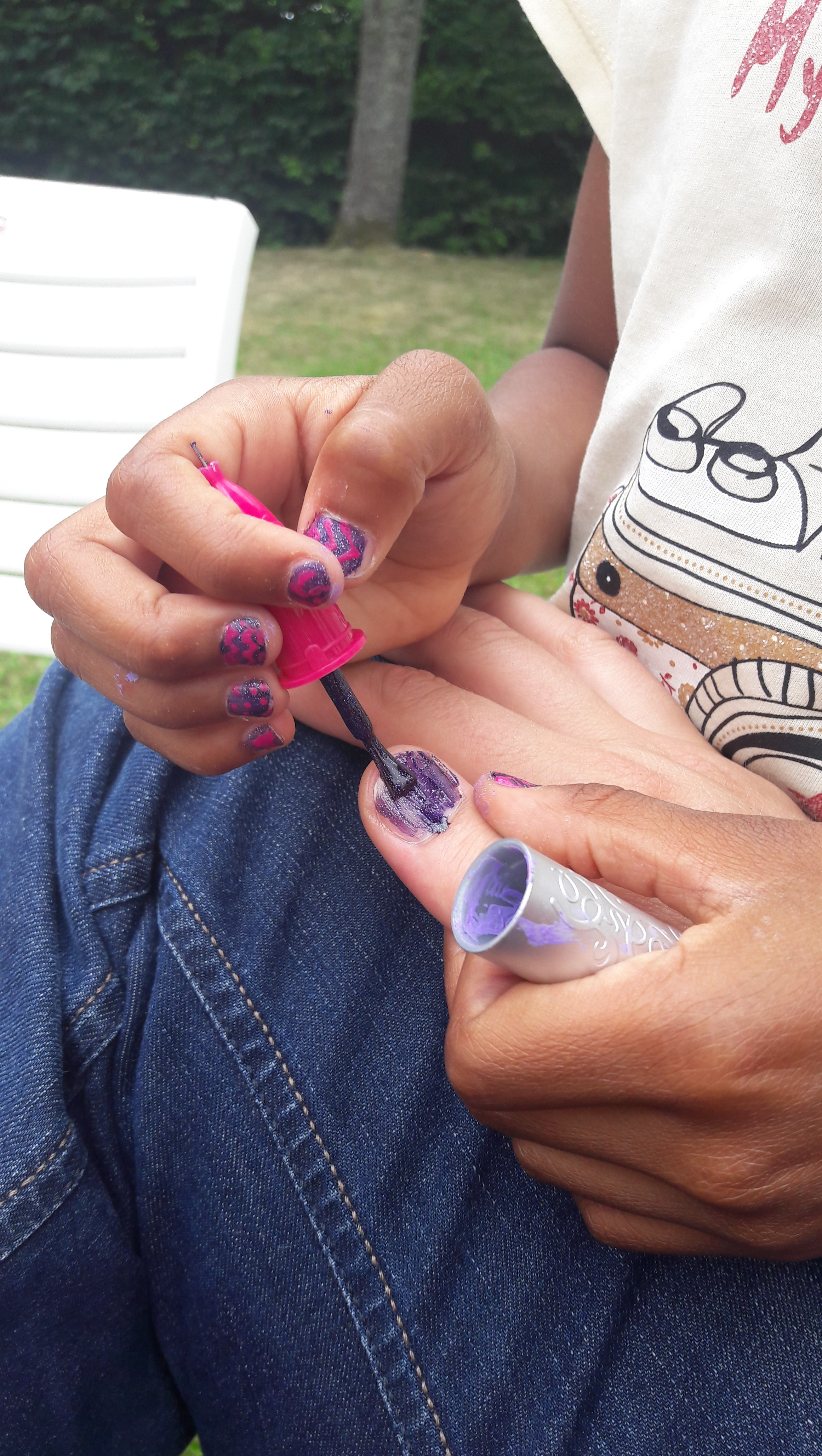 J'ai testé pour vous le Kit Nail Art maker