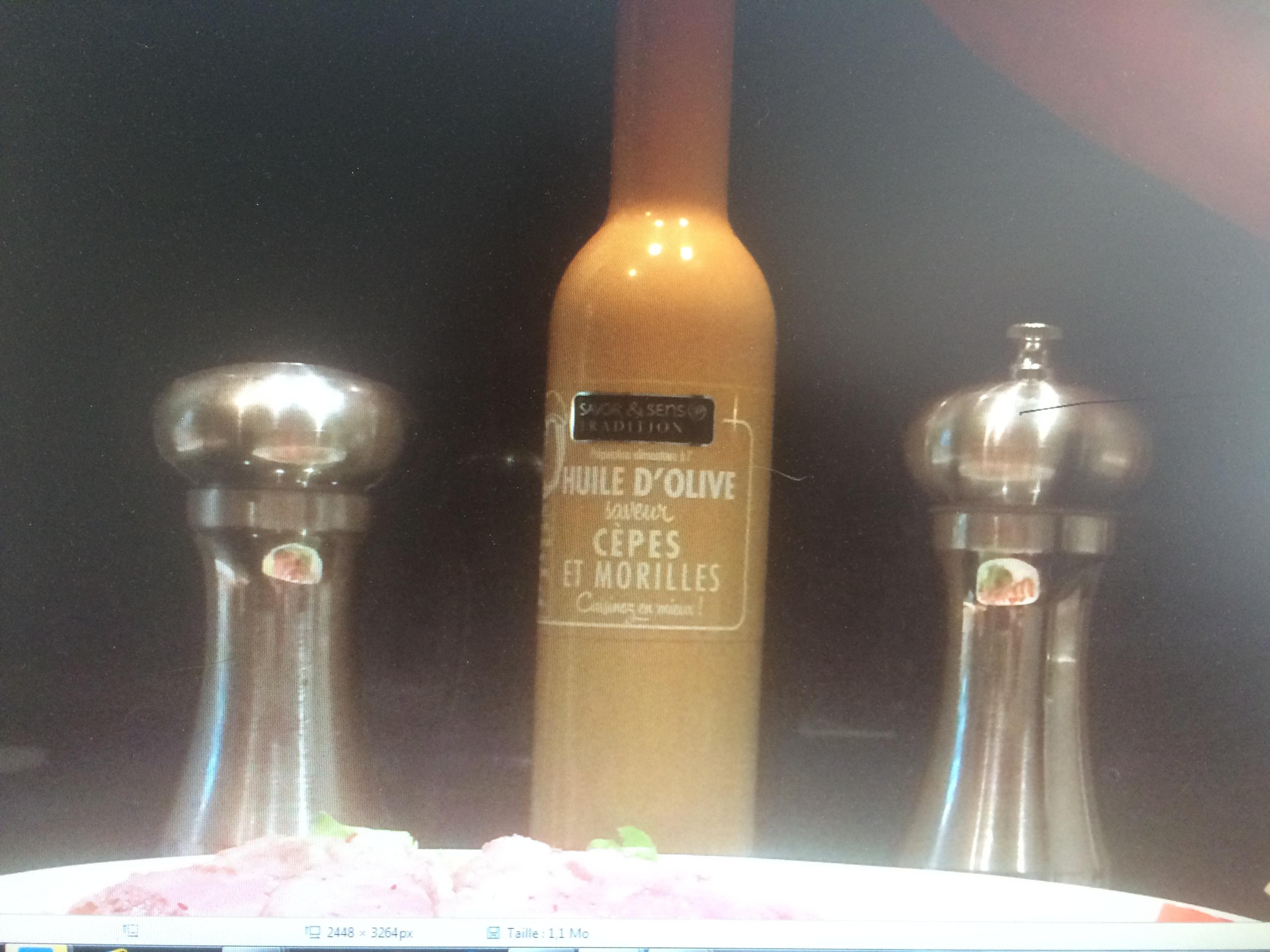 j'ai testé pour vous l'huile d'olive saveur cèpes et morilles