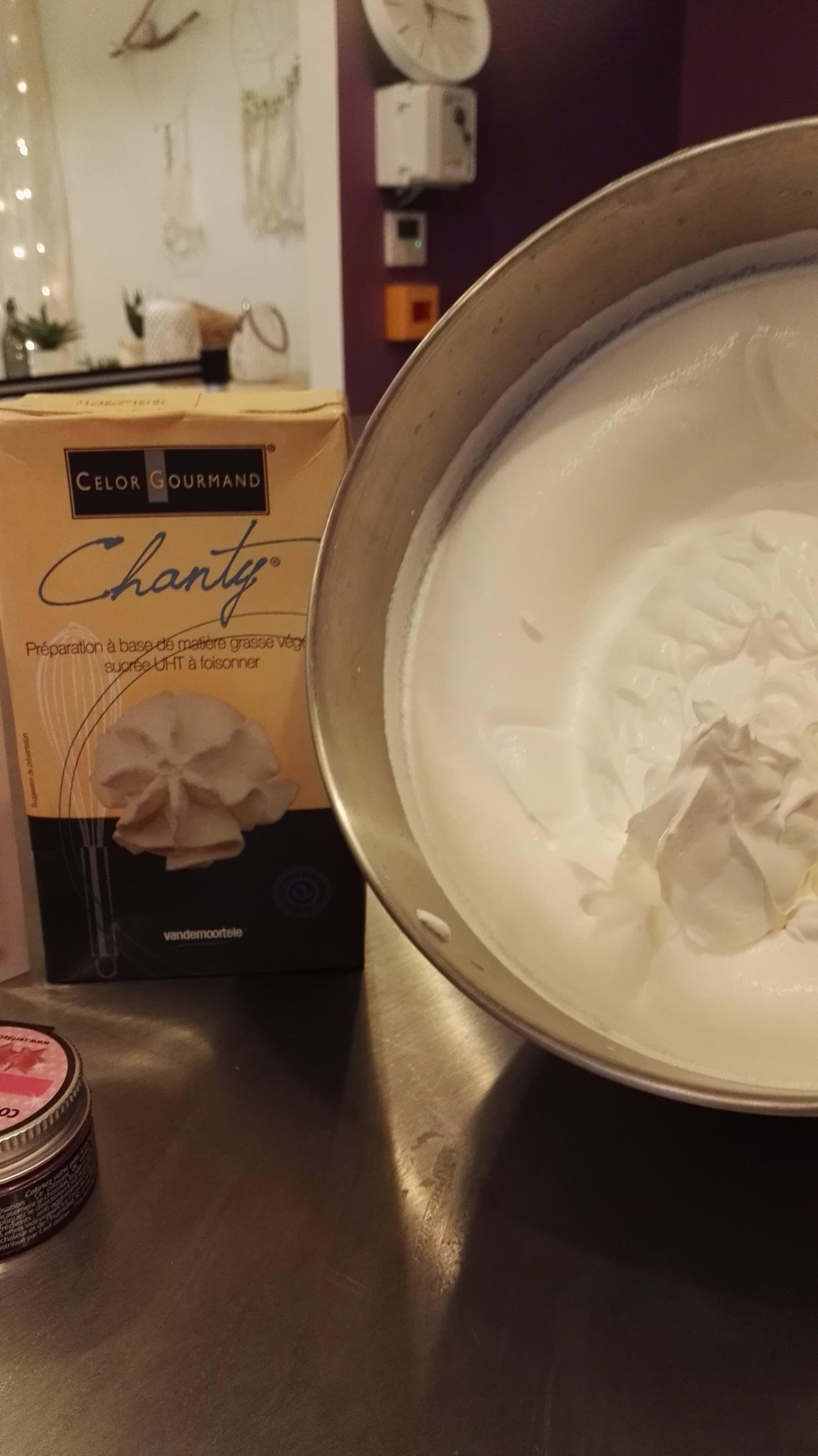 J'ai testé pour vous la crème liquide CHANTY de chez Celor Gourmand