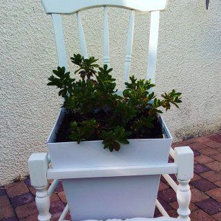 Une chaise relookée et détournée !