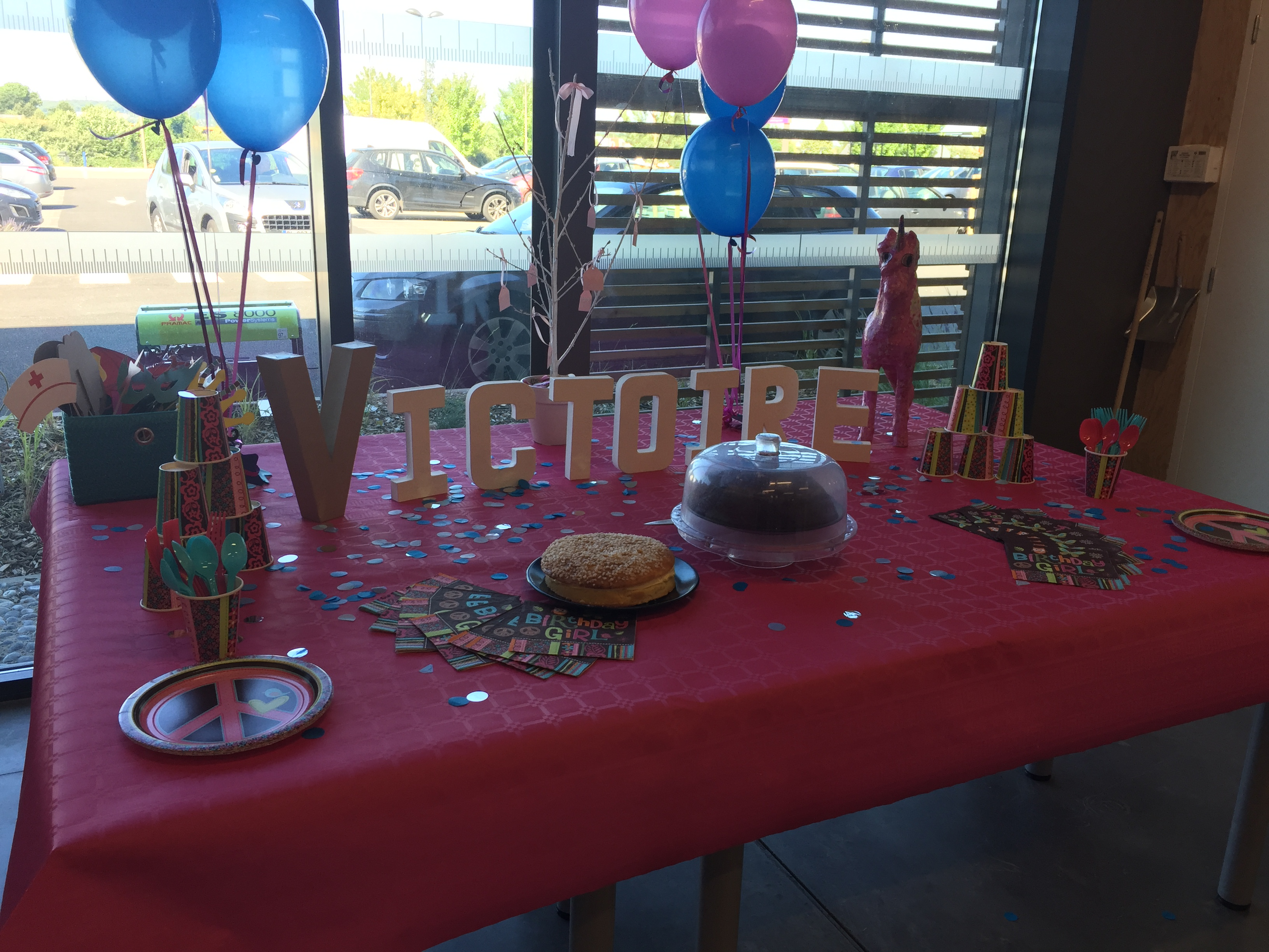 J'ai testé pour vous victoire'birthday Party !!! 10 juin 17