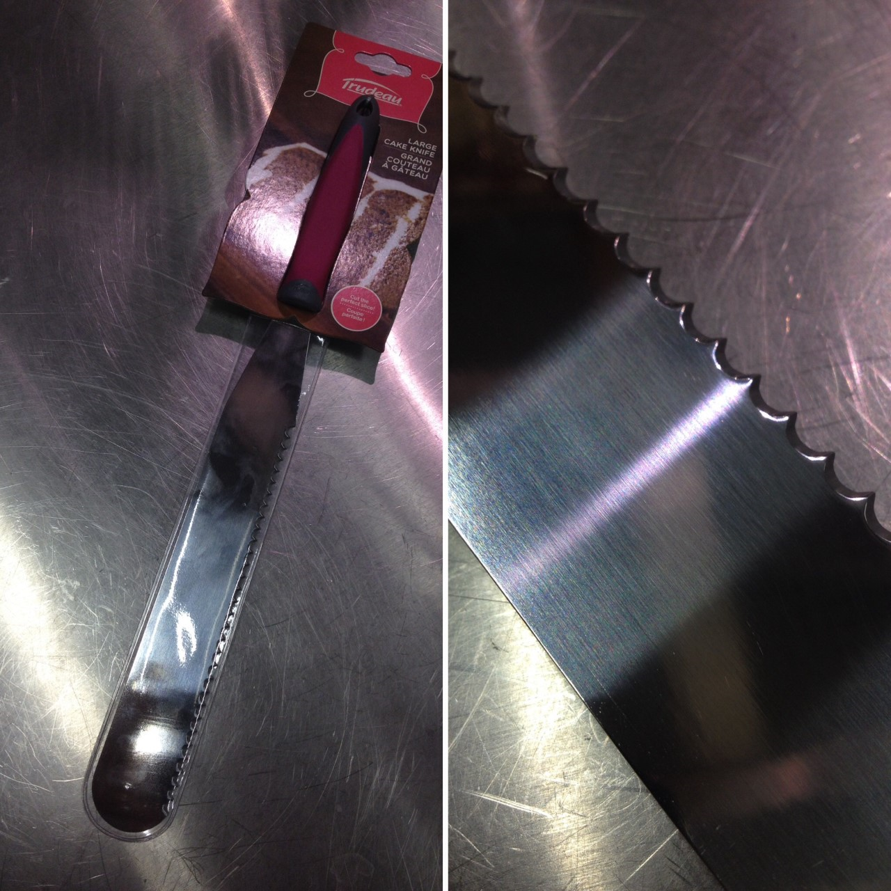 J'ai testé pour vous le couteau à génoise