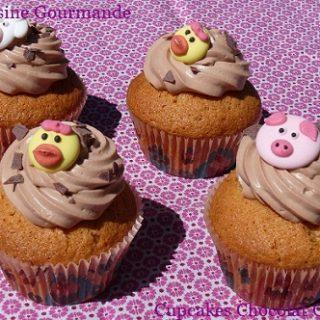 Cupcakes Chocolat Caramel