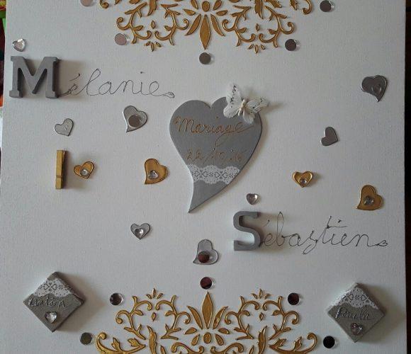 tableau pour un mariage