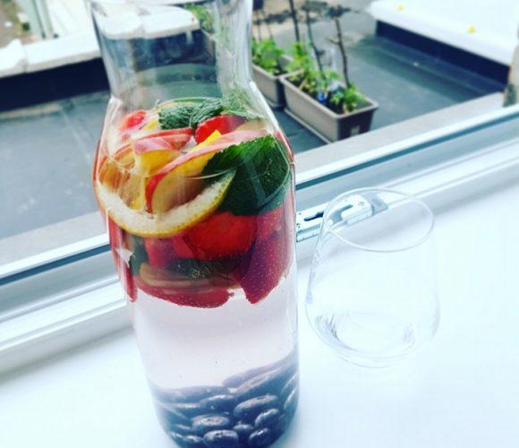 Ma boisson détox de l'été !