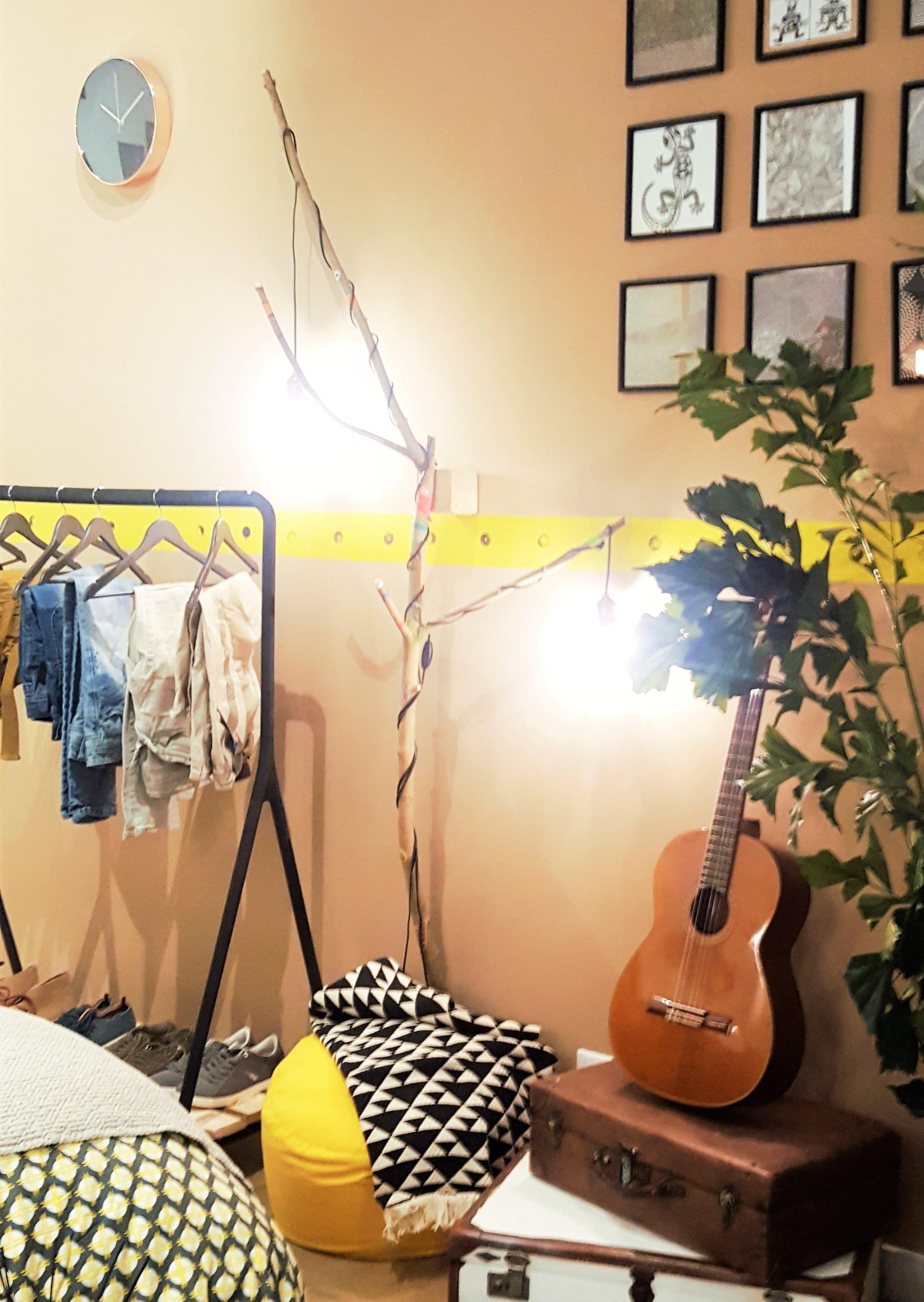 Créez votre branche d'arbre lumineuse !