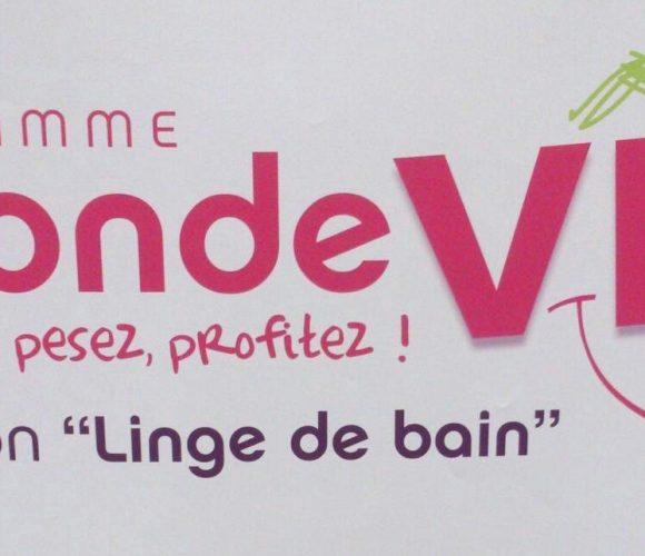 La seconde vie  «LINGE DE BAIN» est de retour jusqu'au 30 septembre  !!