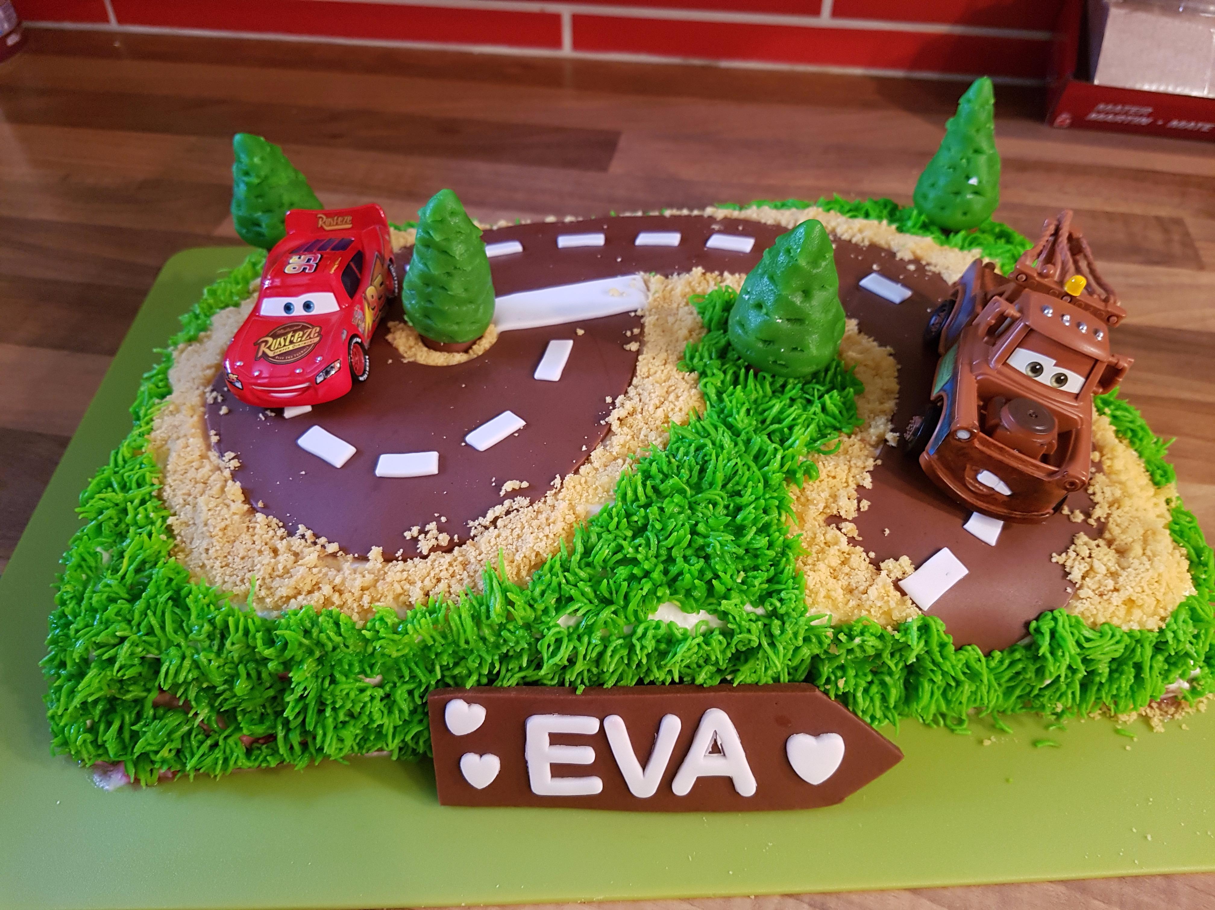 Gâteau Cars