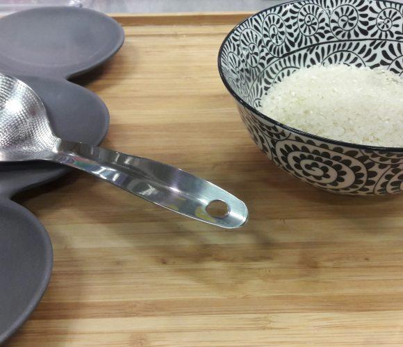 J'ai testé pour vous la cuillère à riz inox