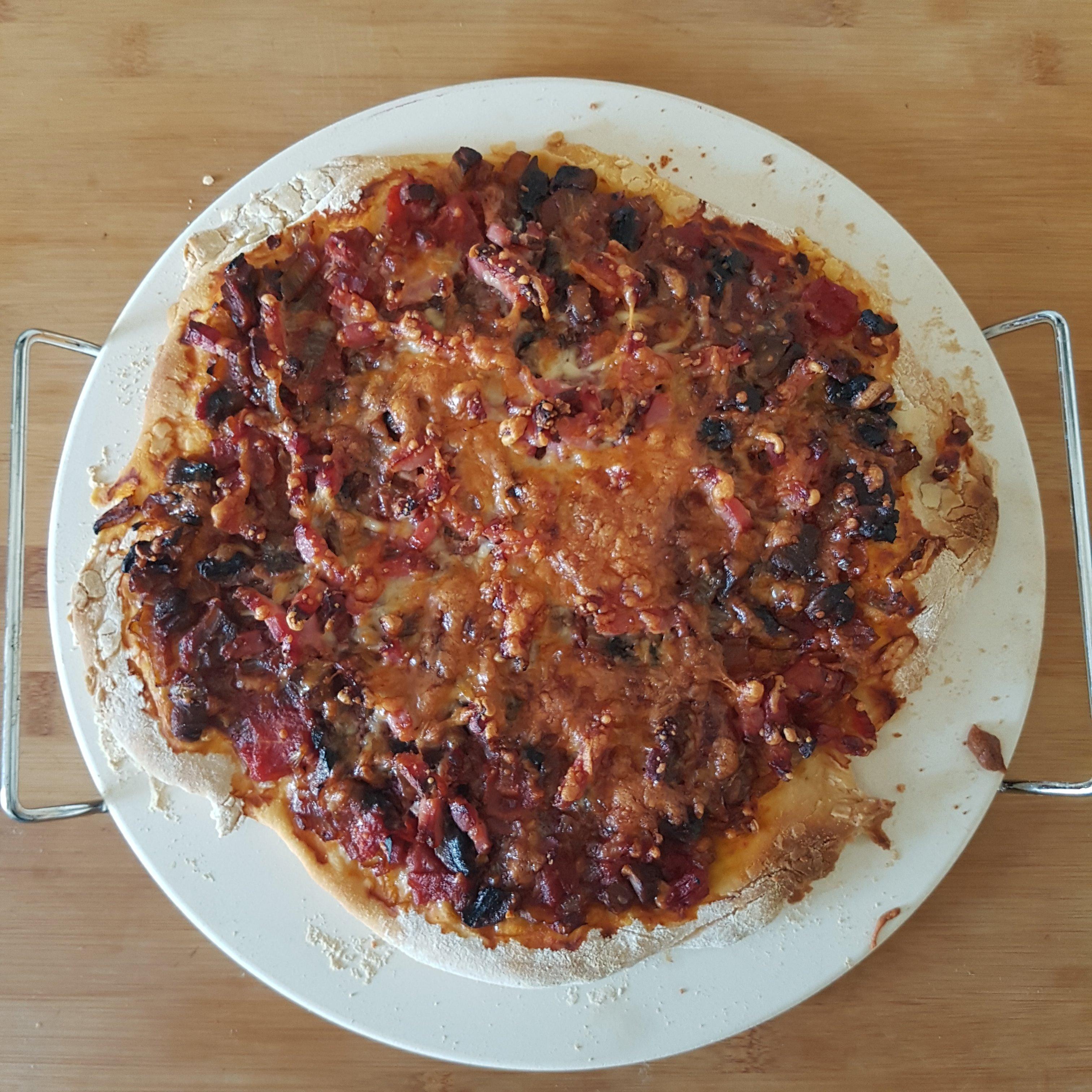 J'ai testé pour vous la pierre à pizza GUSTA