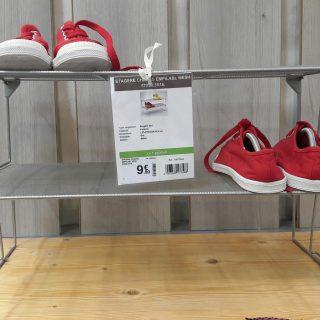 J'ai testé pour vous  l'étagère à chaussures