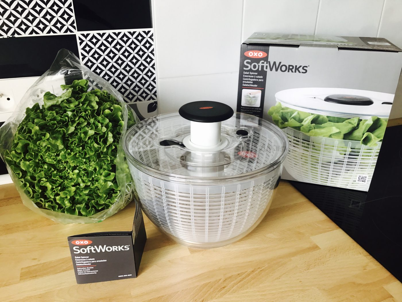 J'ai testé pour vous l'essoreuse à salade OXO  SoftWorks