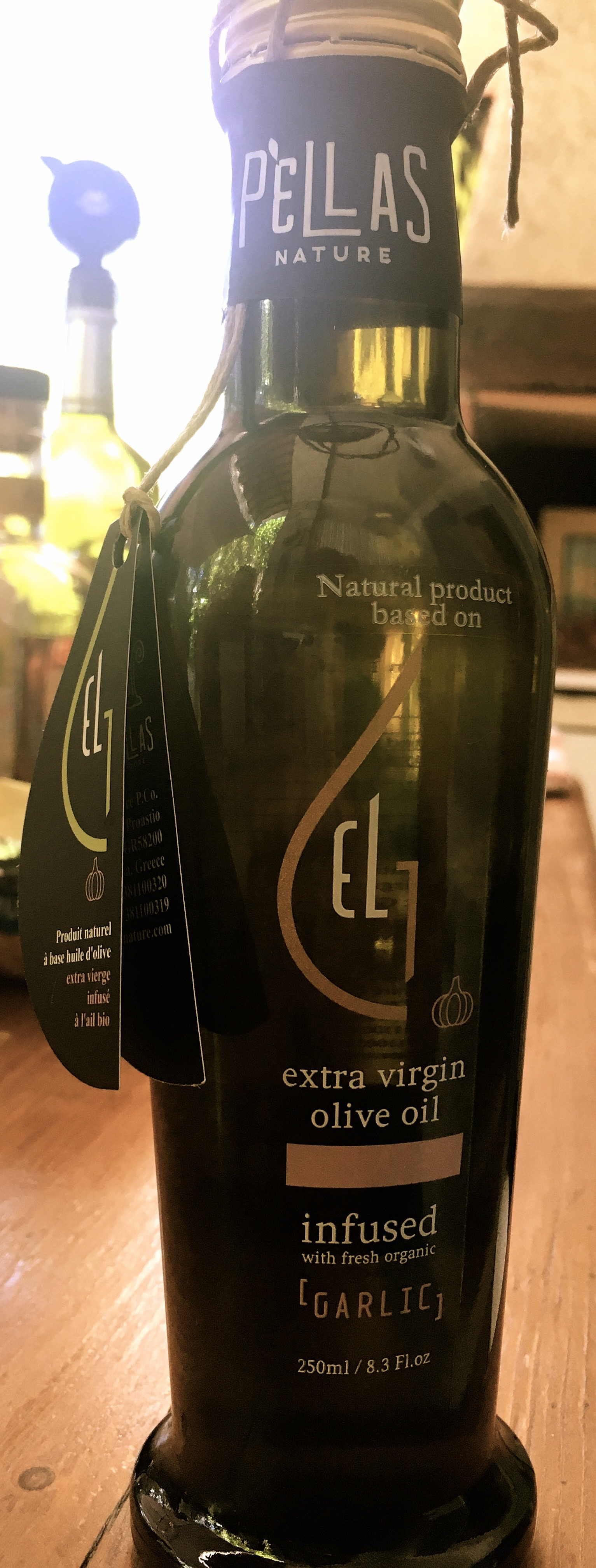 À la découverte de l'huile d'olive infusée à l'ai de la marque Pellas Nature !