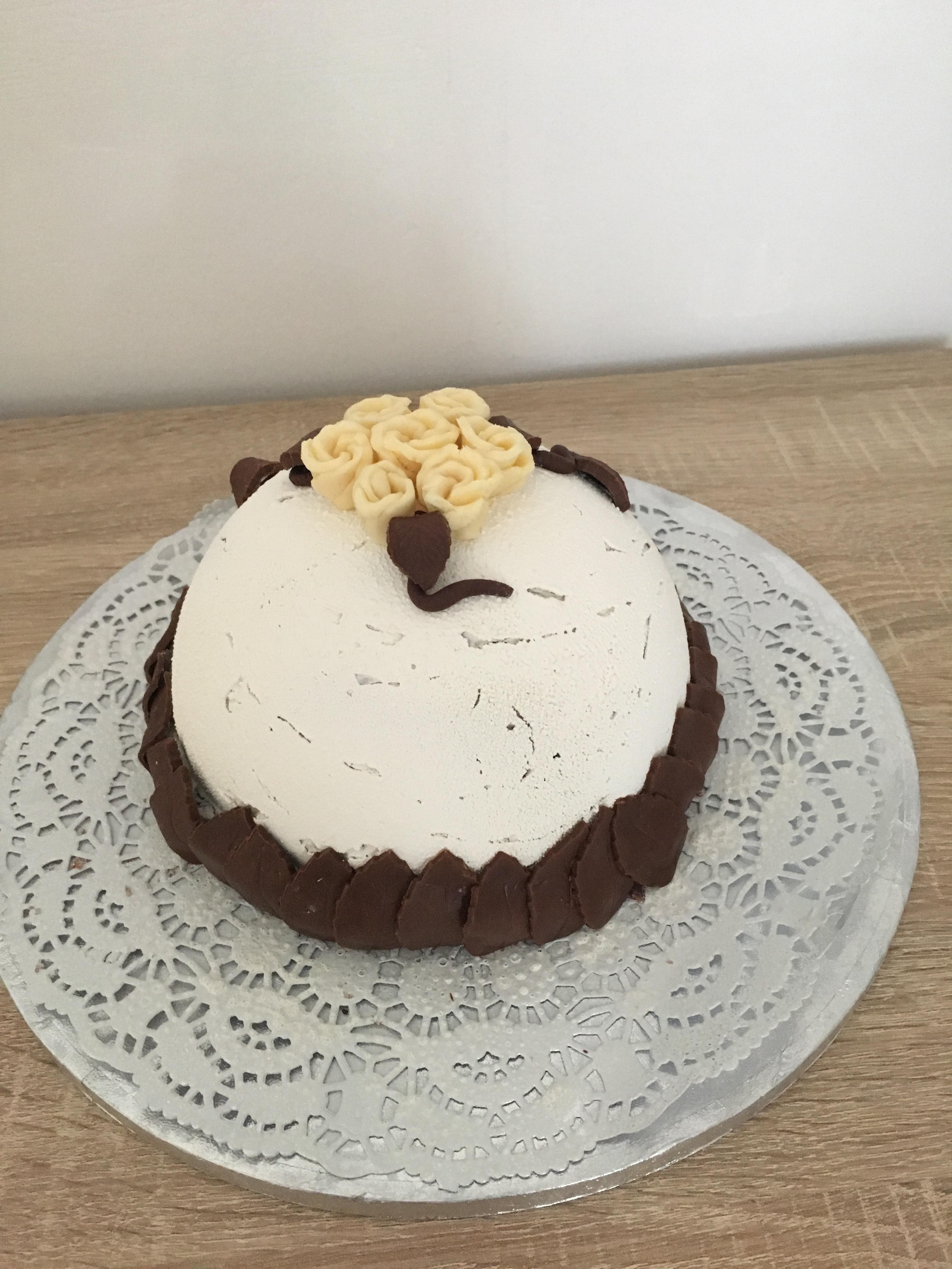 Bombe chocolat noisette