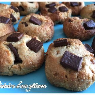 Cookies VEGAN au chocolat / fève de tonka