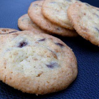 Cookies aux Pépites de Chocolat et d'Erable