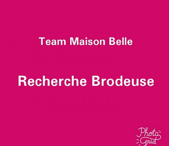 AVIS DE RECHERCHE : Madame la brodeuse, Monsieur le brodeur…. cet article est pour vous!!!