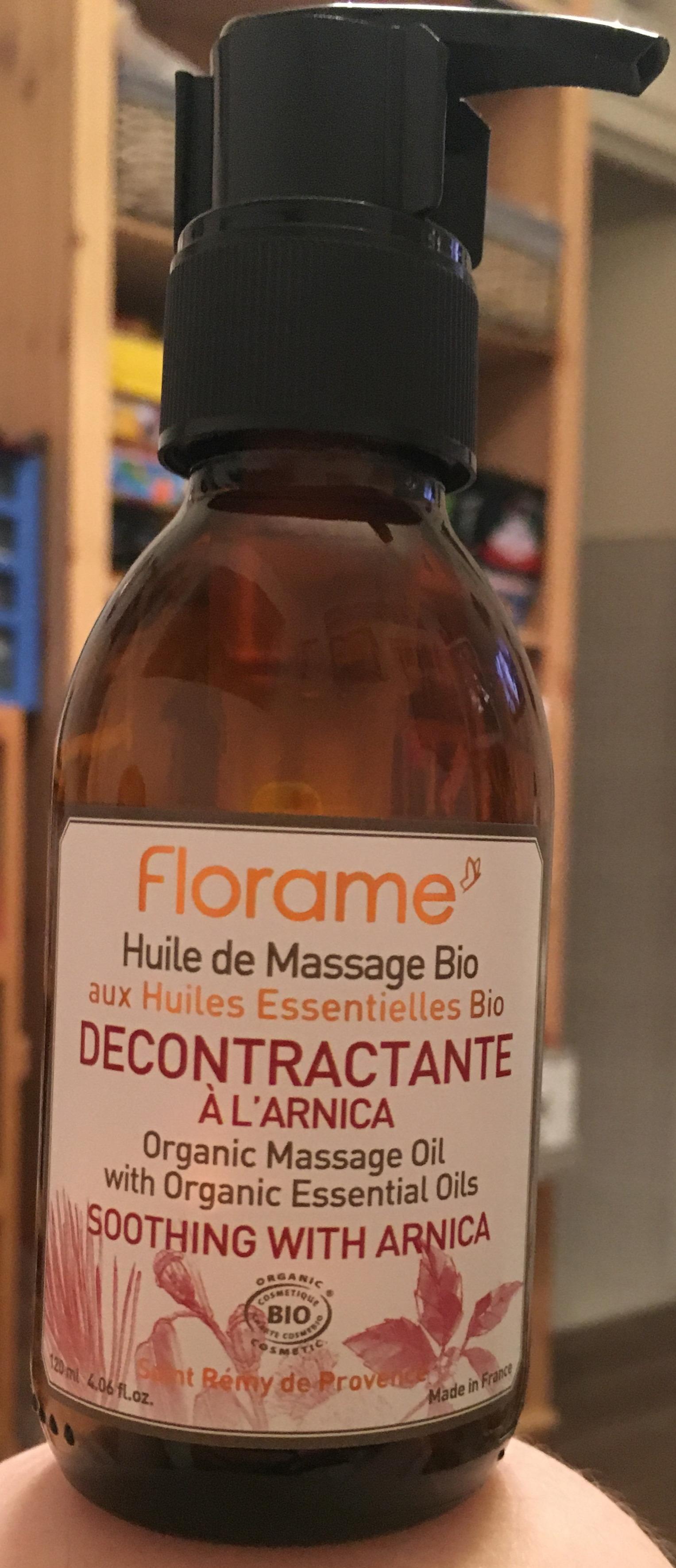 J'ai testé pour vous florame - huile de massage bio décontractante
