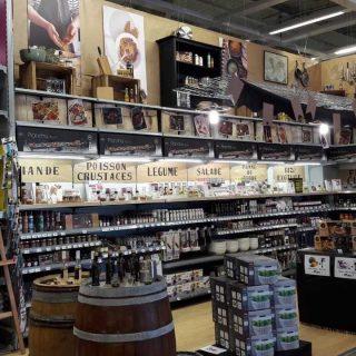 Notre nouveau podium marché des saveurs est en place !