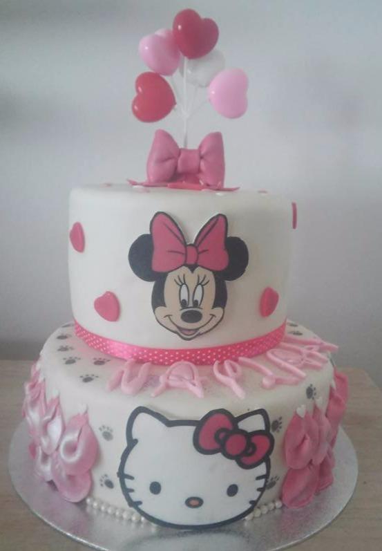 MOLLY CAKE AMNADE ET GANACHE KINDER BUENO ET CHOCOBON