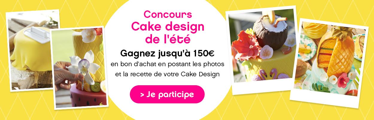 Jeu concours : cake design de l'été