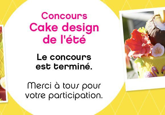 Jeu Concours : Cake Design de l'été ? !