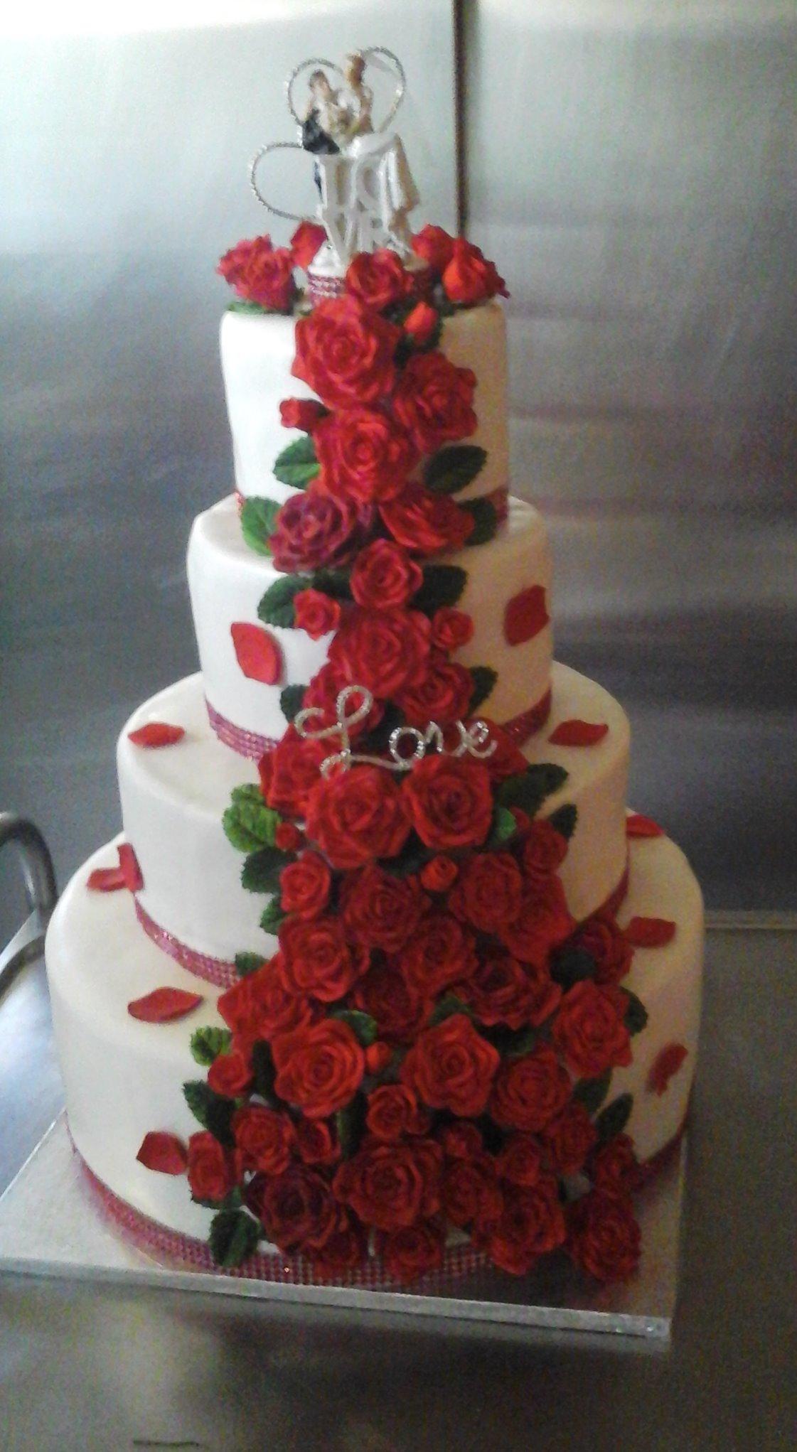 Mon premier wedding cake