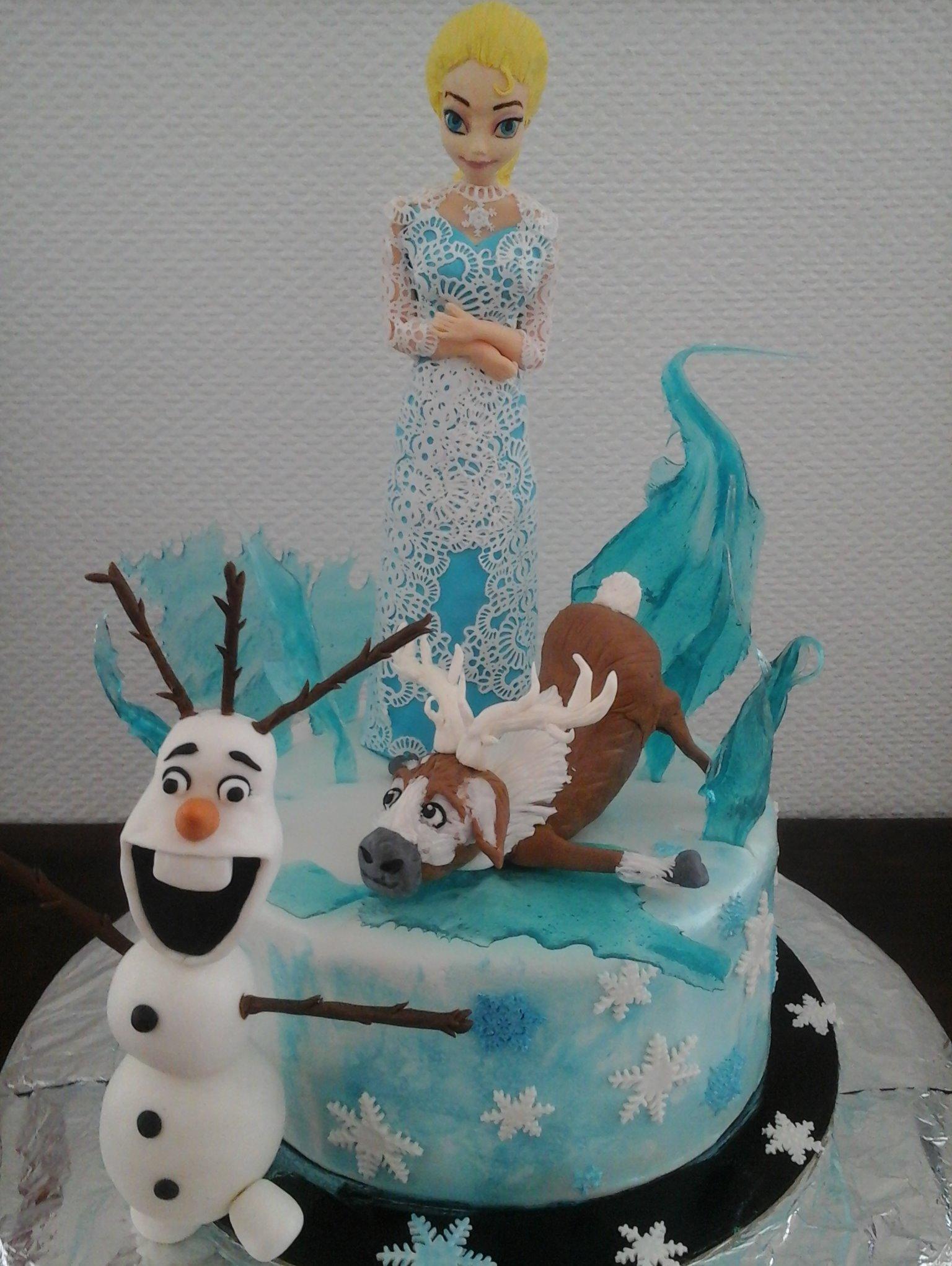 Presqu'un gâteau de saison vu le temps!!!