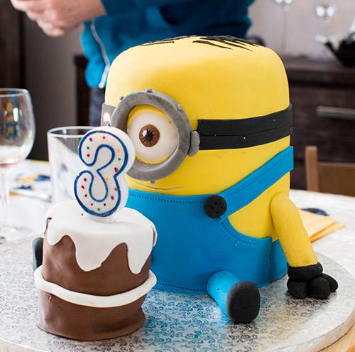 Cake Design Minion