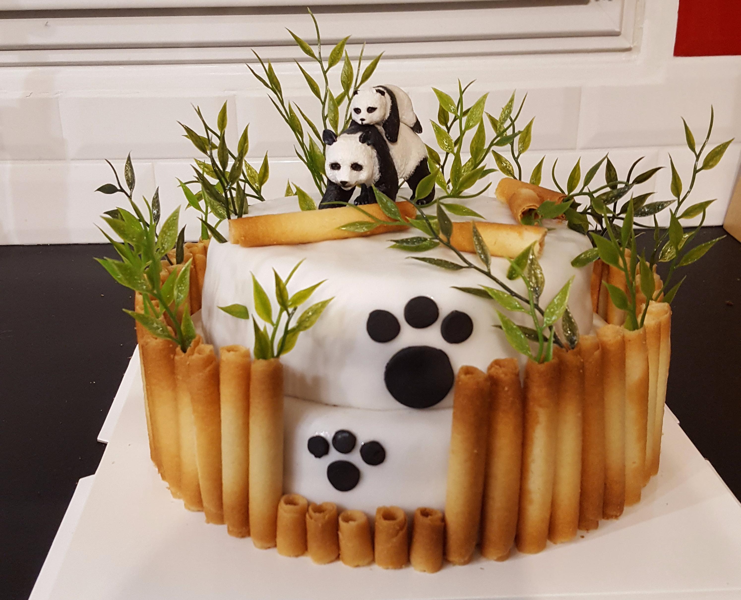 Panda's cake