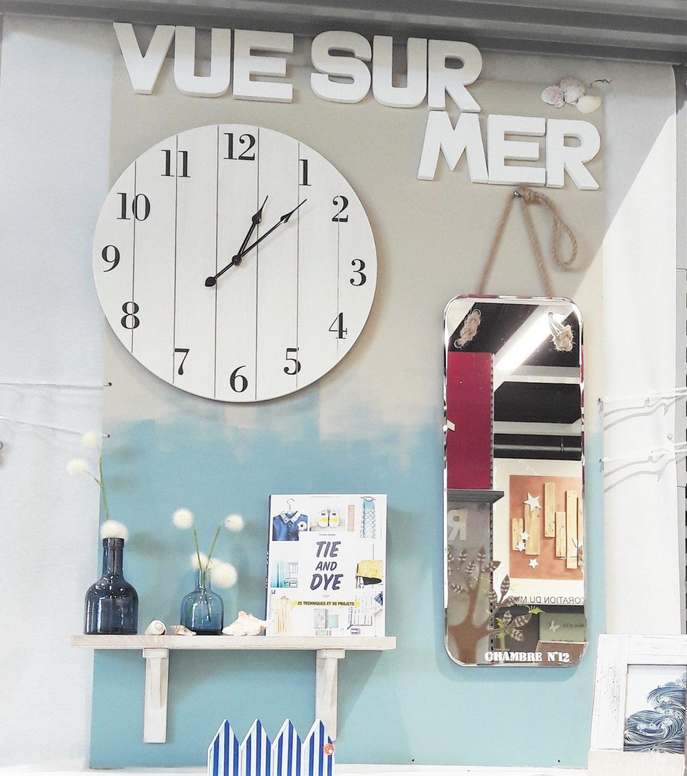 J'ai testé pour vous l'horloge palette bois